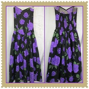 Fredericks of Hollywood Strapless Dress Size Small
